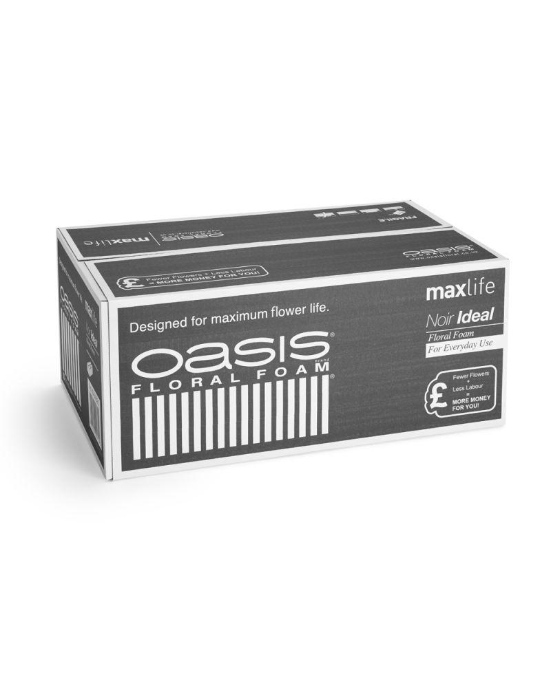 Oasis® Noir Ideal Floral WET Foam MaxLife (20 Bricks)