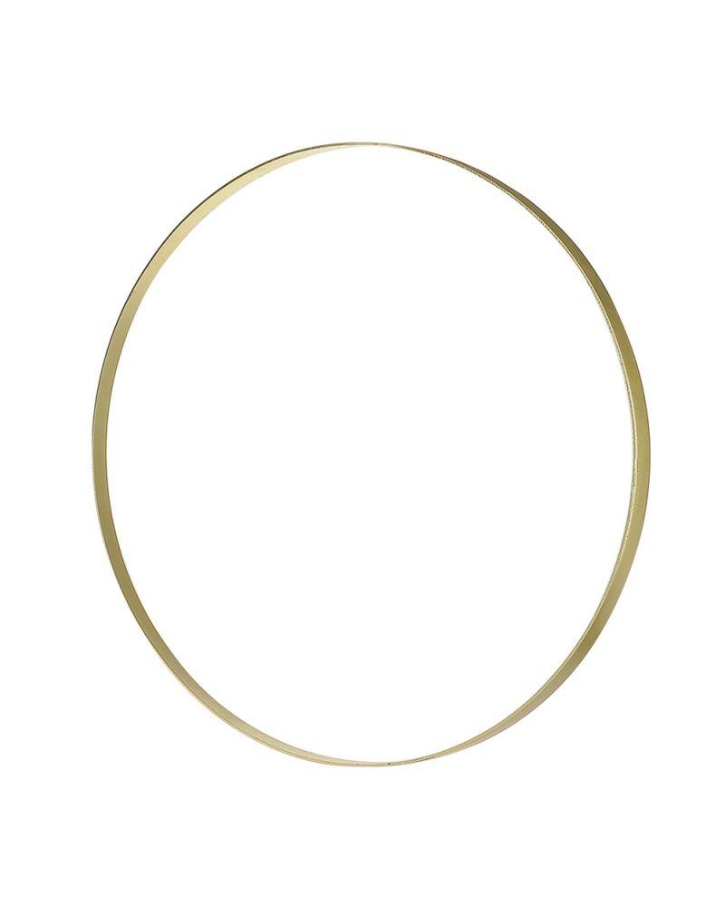 Champagne Gold Metal Hoop  60cm