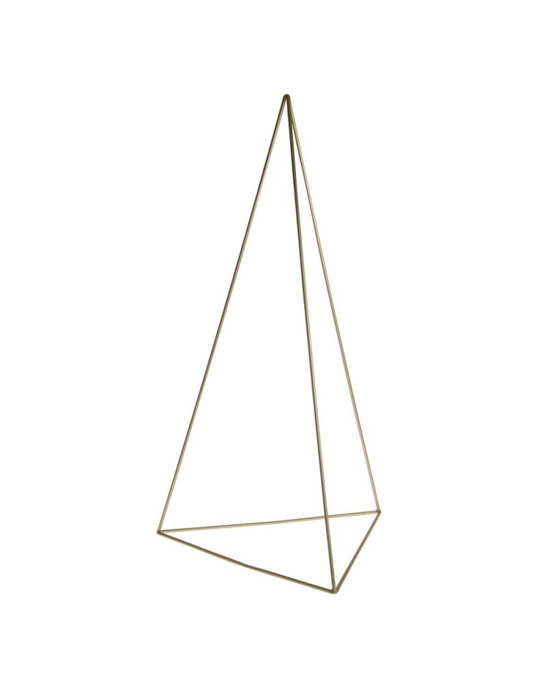 90 cm Champagne Gold Metal Triangle stand Tripod