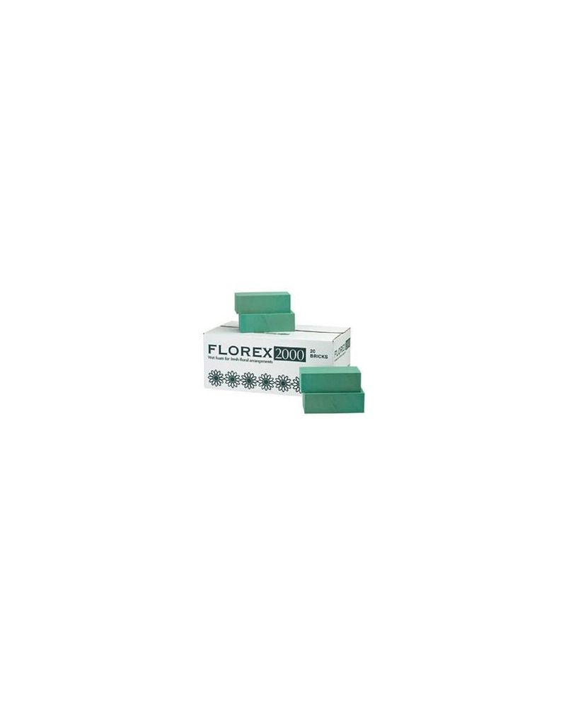 Oasis® Florex Floral Foam WET (20 Bricks)