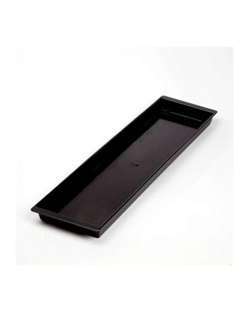 Floral Double Brick Tray - Black (Singles)
