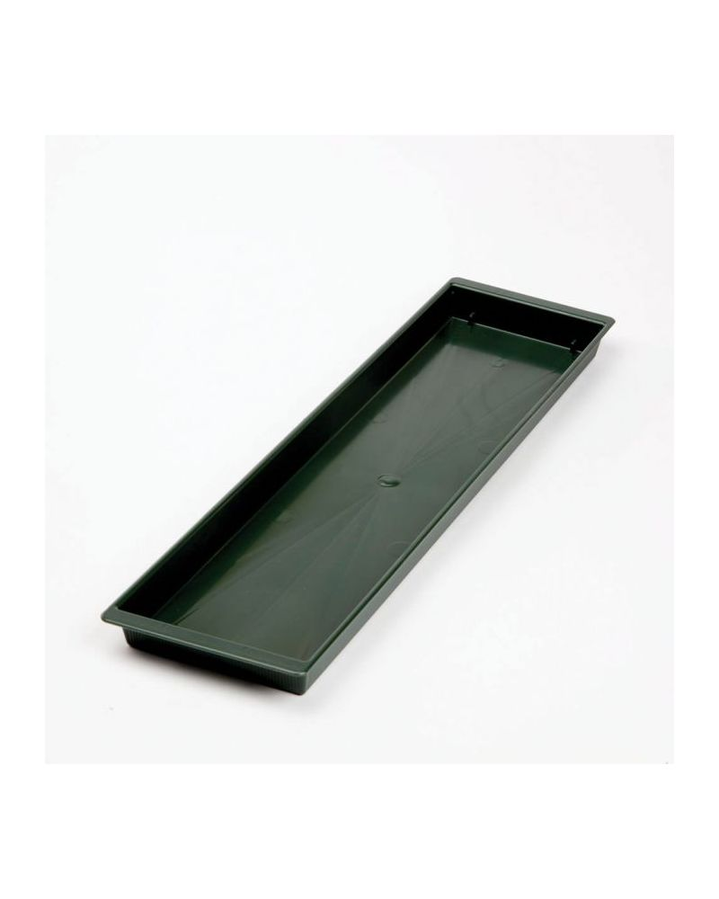 Floral Double Brick Tray - Green (Pack of 10)