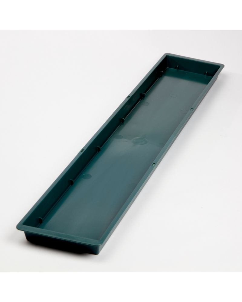 Floral Triple Brick Tray - Green (Pack of 5)
