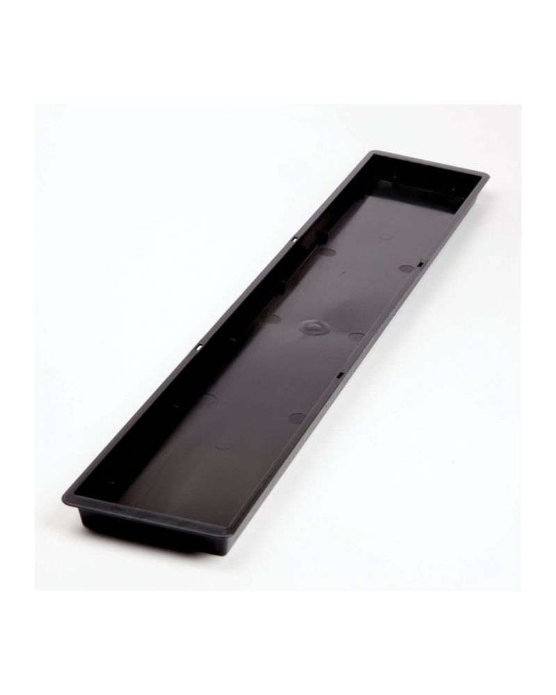 Floral Triple Brick Tray - Black (Singles)