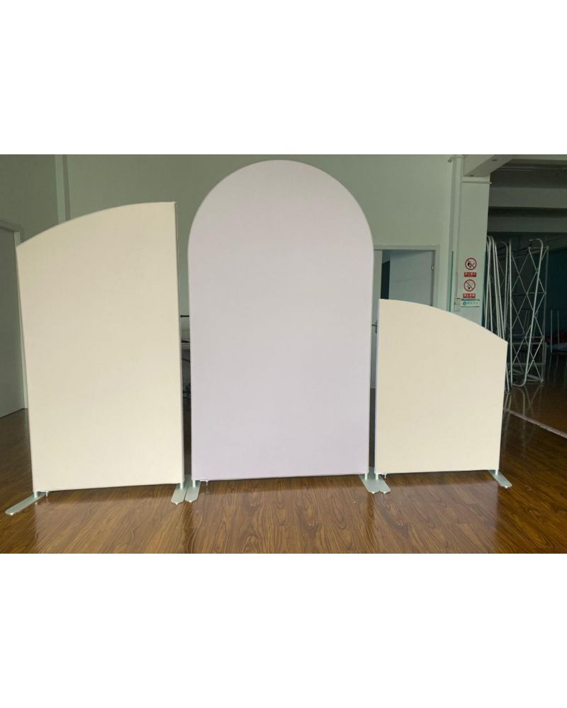 Set of 3 Arch Balloon Prop Sail & Frame Backdrop Frame (Complete With Covers)