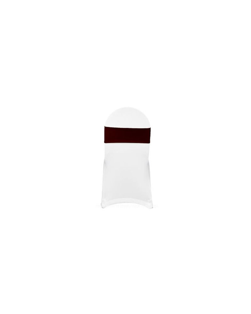 Burgundy Spandex Lycra Bands For Chair Covers