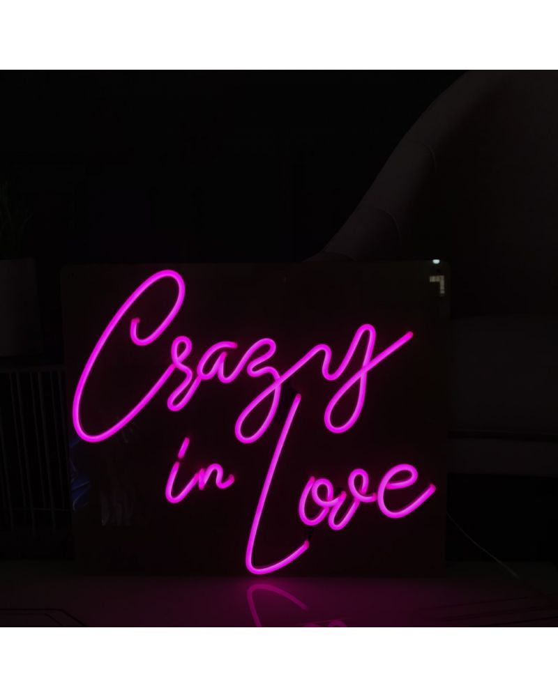 Crazy in Love LED Neon Wedding Sign