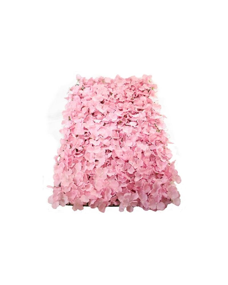 Pink Hydrangea Flower Wall Panel 40x60cm
