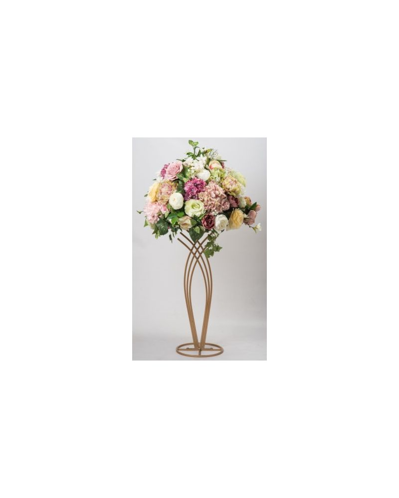 Champagne Gold 100cm Mermaid Flower Stand