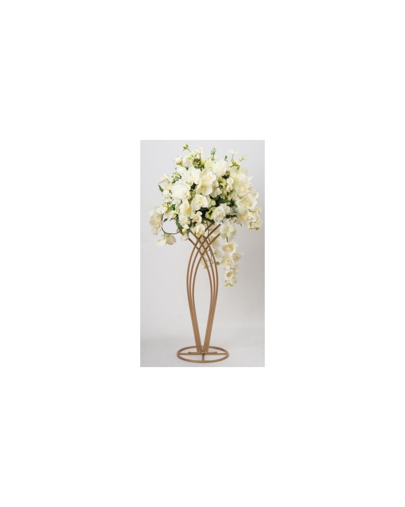 Champagne Gold 80cm Mermaid Flower Stand