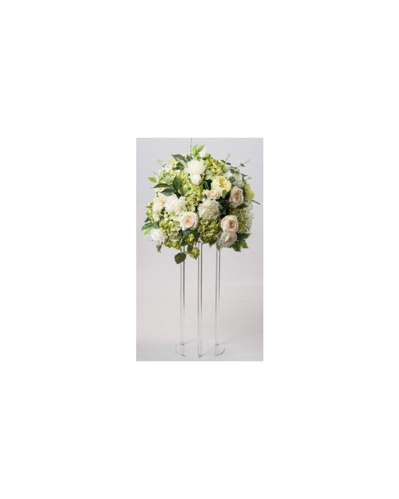Acrylic Flower Stand Table Pedestal Round 60cm
