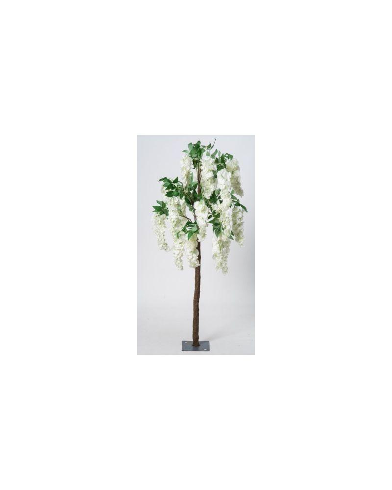 140cm Cream Wisteria Tree Blossom Tree