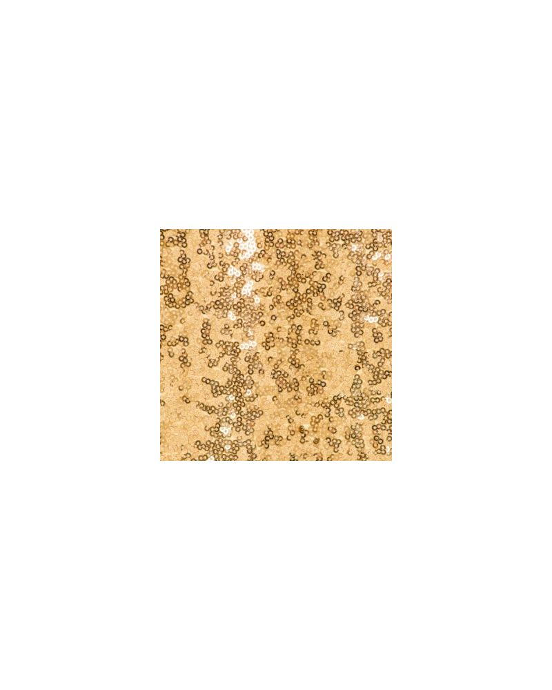 90x132 Inch Gold Rectangular Sequin Tablecloth / Overlay