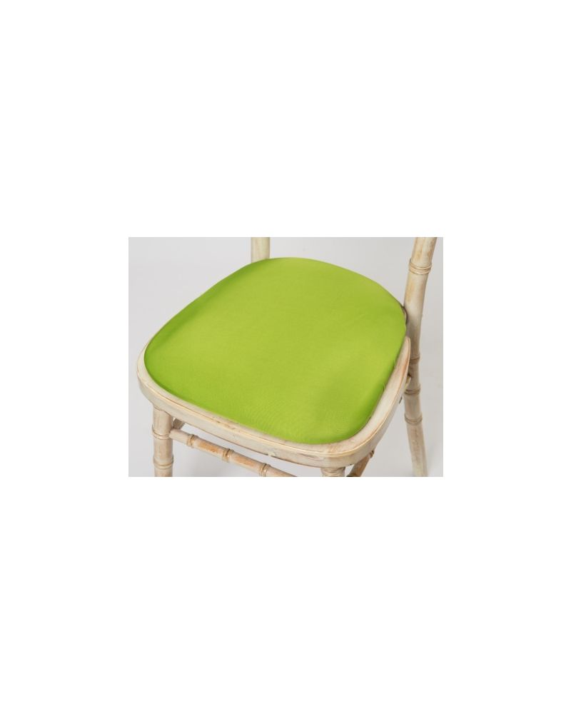 Lime Green Chiavari Chair Spandex Seat Pad Covers (Shower Caps)  To Buy