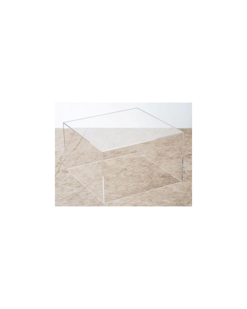 Acrylic Clear Table Box Cake stand Cube   30cmx30cmx30