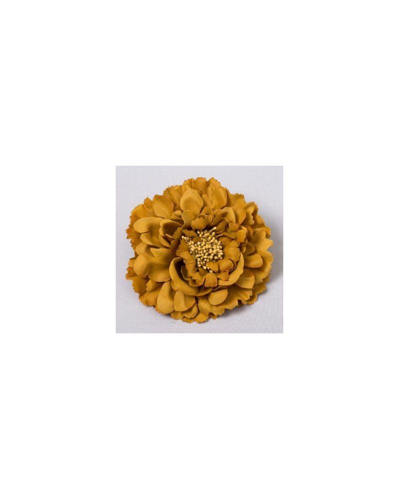 Gold Flower Clip 11cm