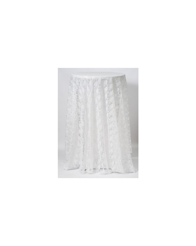 70 Inch x 70 Inch Ivory Square Table Linen Banqueting Tablecloth