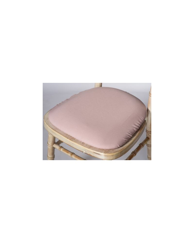 Blush Pink Chiavari Chair Polyester Seat Pad Covers (Shower Caps)  To Buy