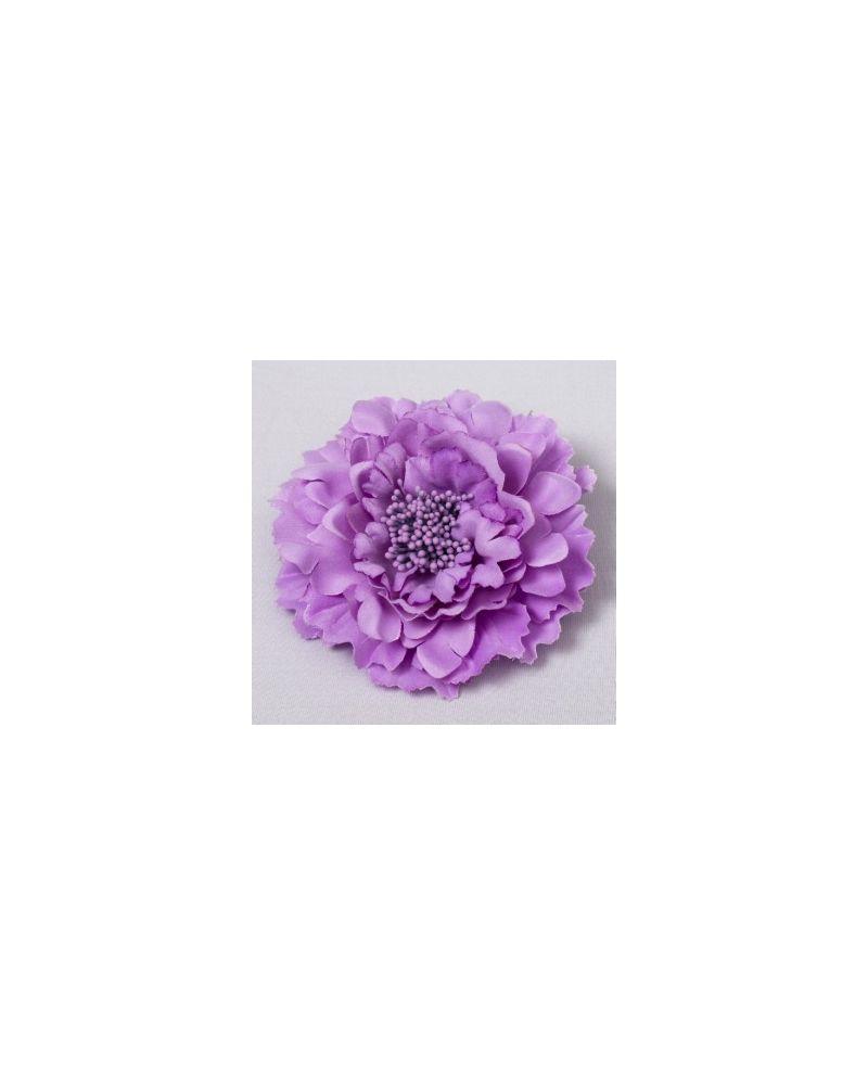 Lilac Flower Clip 11cm