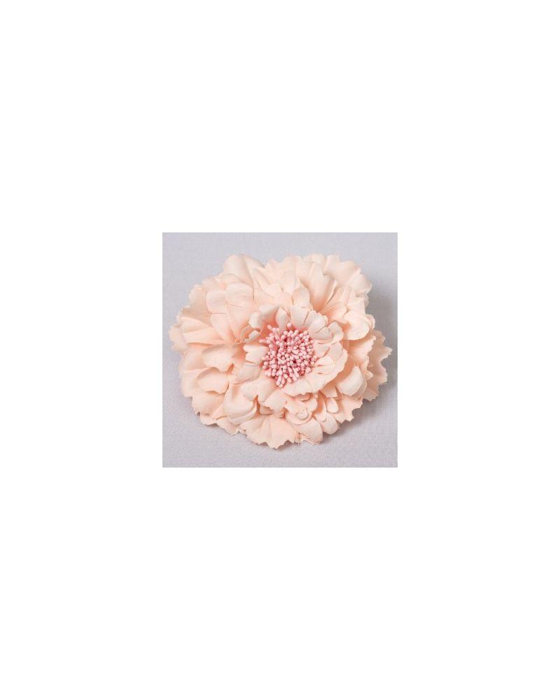 Blush Pink  Flower Clip 11cm