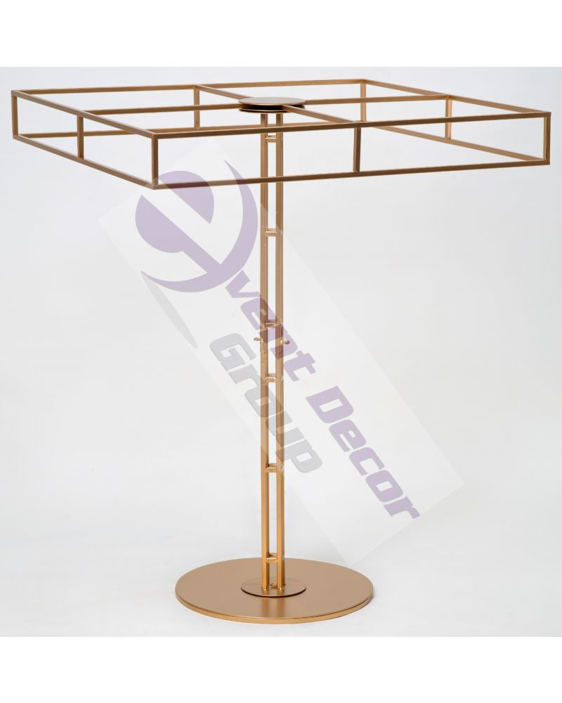100cm Height Halo Stand with 80cm Square