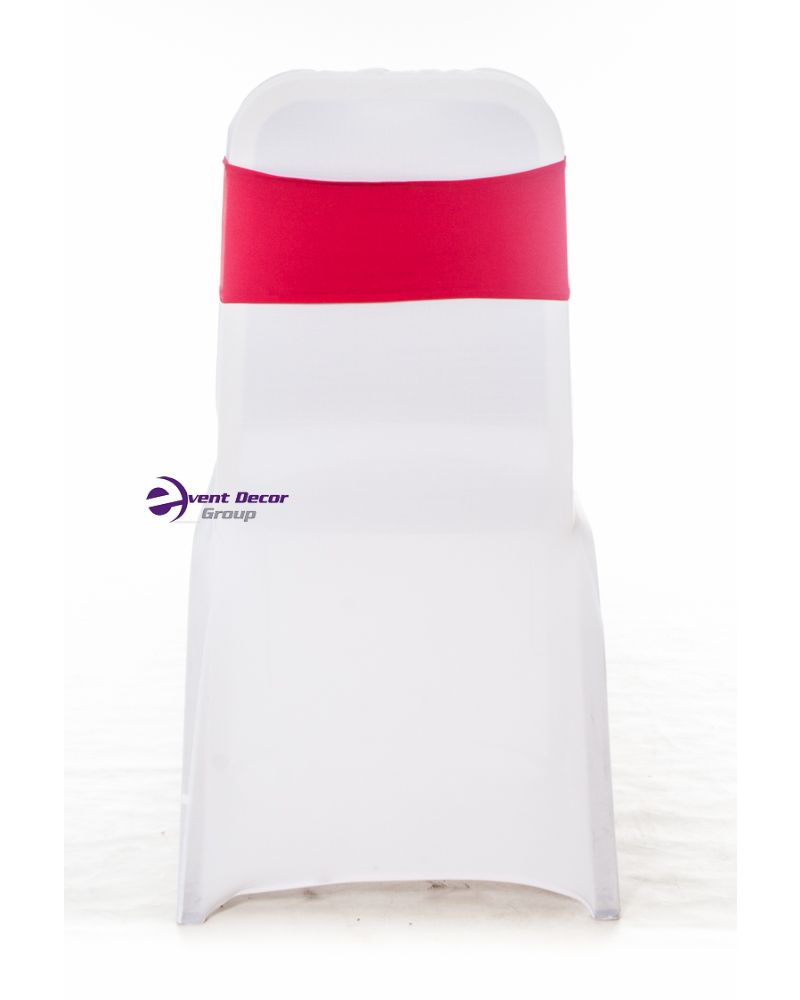 Red Spandex Lycra Bands For Chair Covers