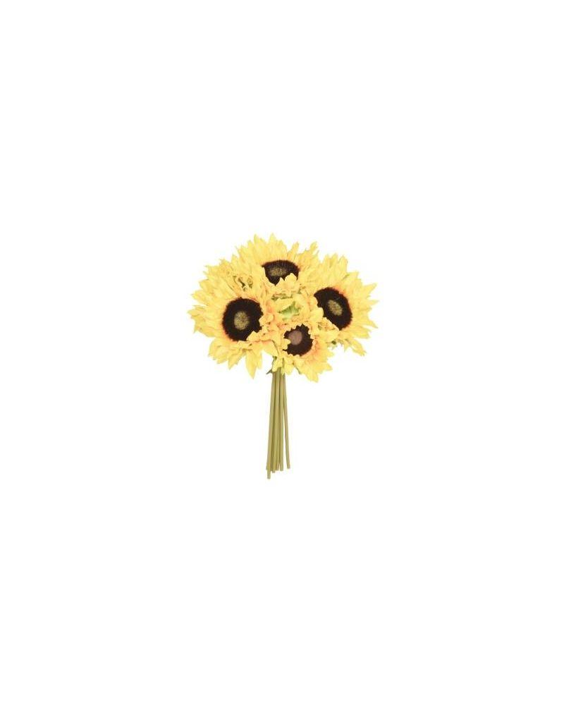 30cm Sunflower 7 Posy