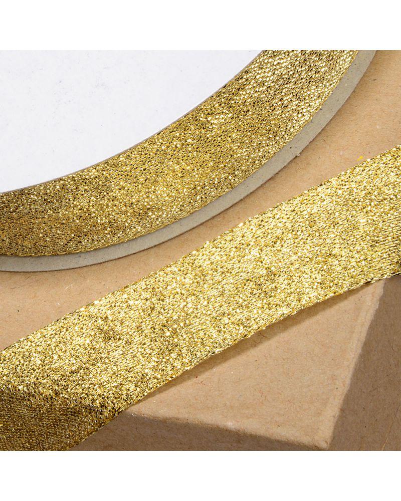 Lurex Ribbon 12mm x 25m Gold