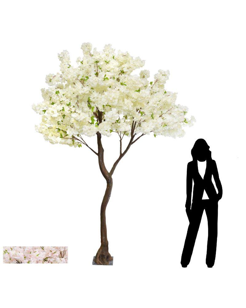280cm Cream Cherry Blossom Tree
