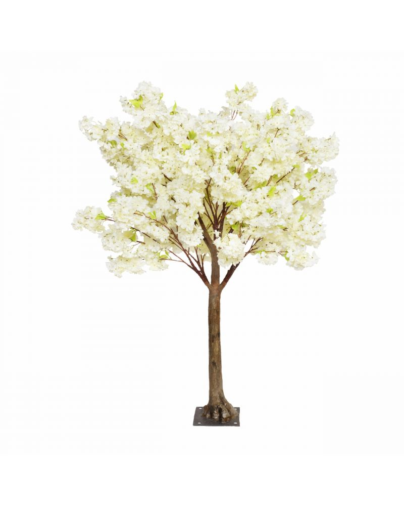 180cm Cream Cherry Blossom Tree with Interchangeable Branches