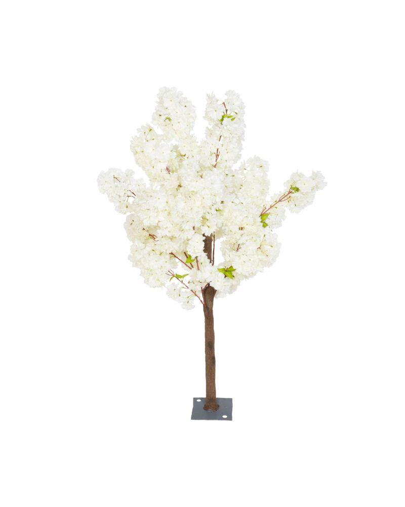 140cm Ivory Blossom Tree 6 Branch