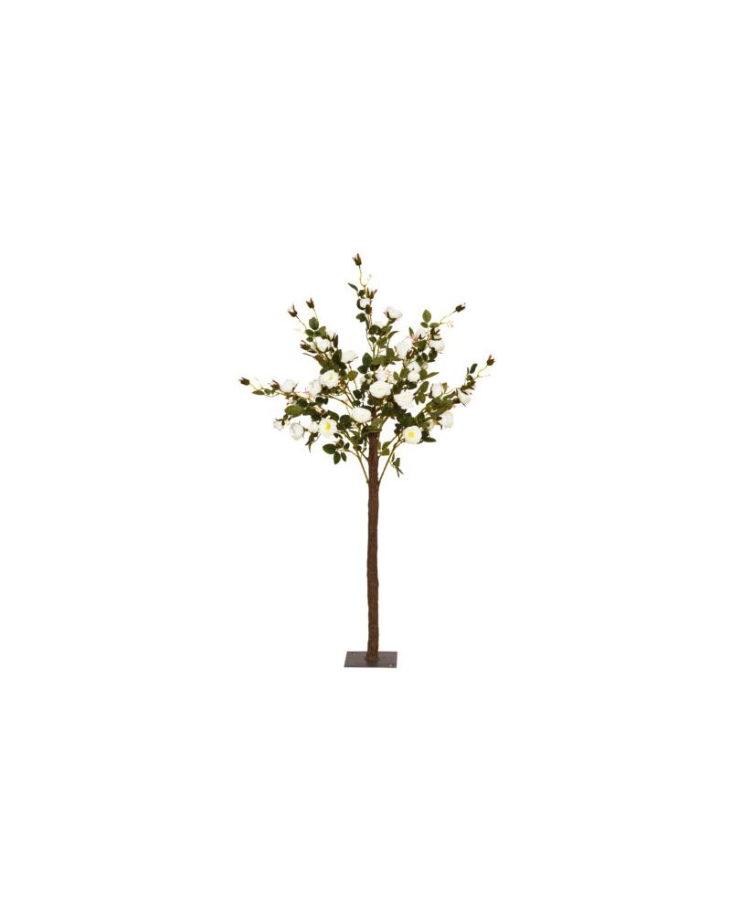 140cm Ivory Rose Tree
