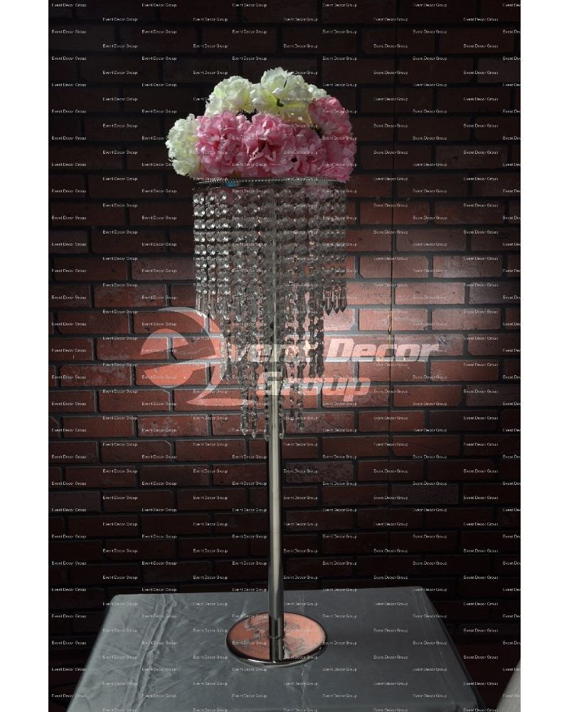 80cm Three Tier Crystal Stand Candelabra Centrepiece chandelier