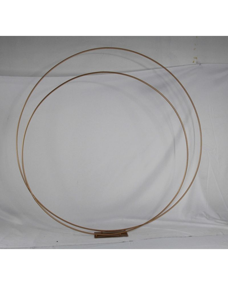 Gold Wedding Arch Frame Moongate 180cm