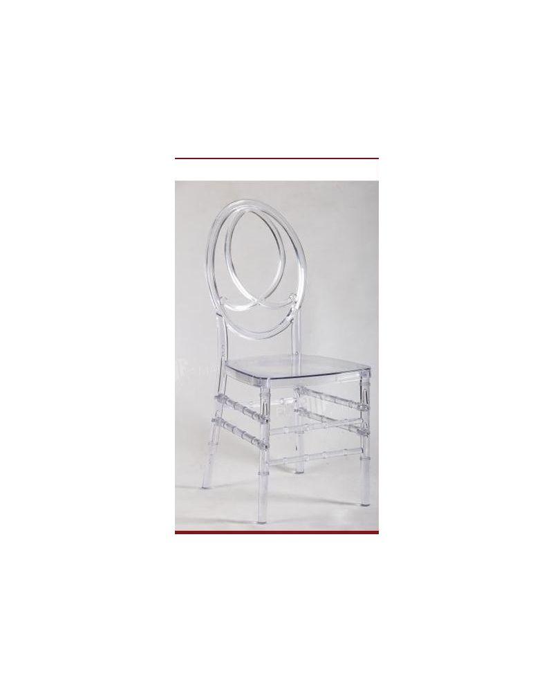 Ice Resin Chanel Back Chiavari Chair  Wedding Chairs