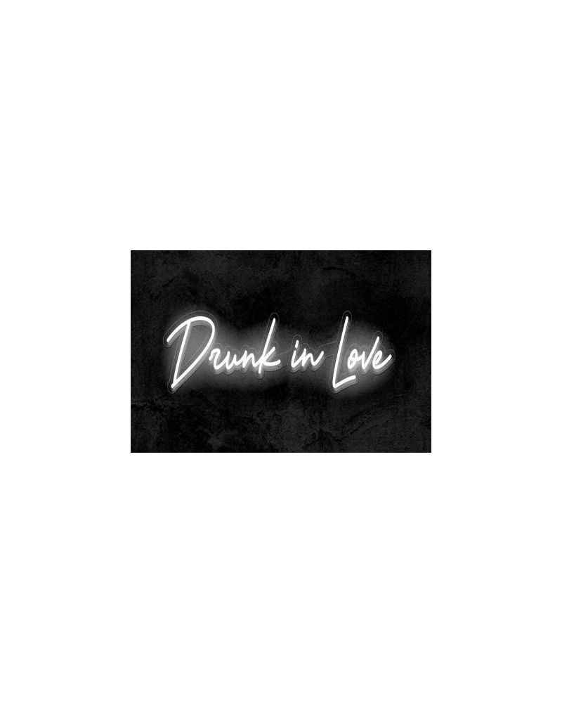 Drunk In Love LED Neon Party Sign (Cool White)