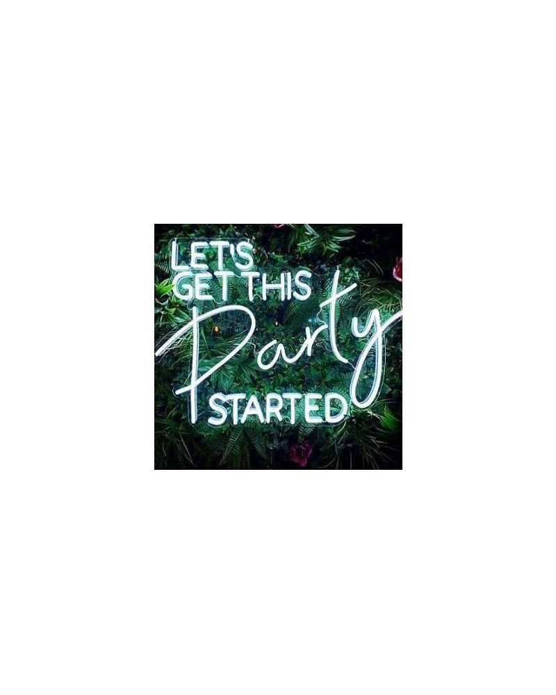 Lets Get This Party Started LED Neon Party Sign (Cool White)