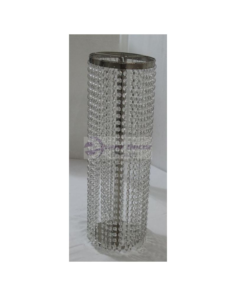 65cm Round Glass Crystal Chandelier Waterfall Centrepeice