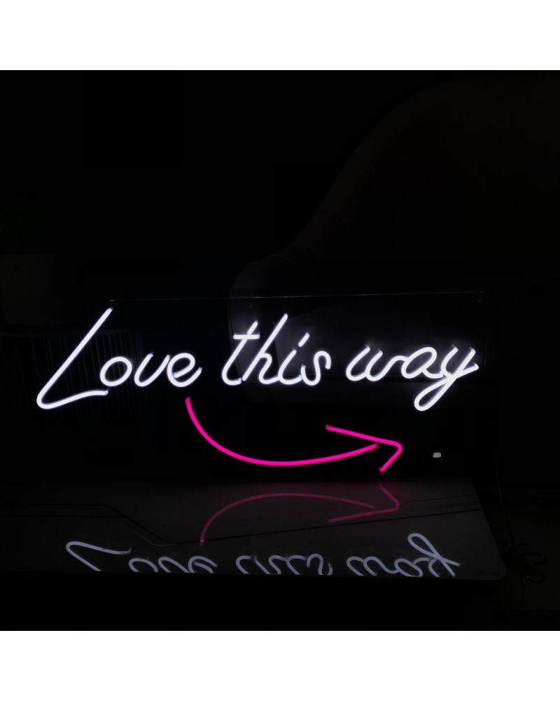 Love this Way LED Neon Wedding Sign