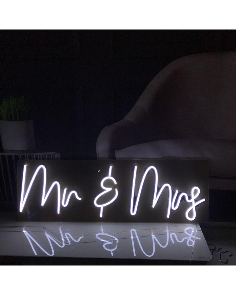 Mr & Mrs LED Neon Wedding Sign