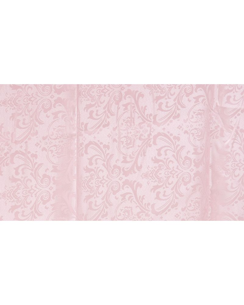 "Pink Damask Polyester Napkins 20""x20"""