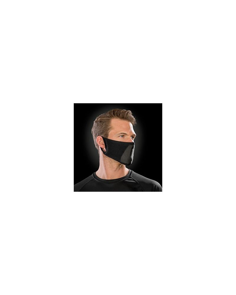 Antibacterial Face Mask - Black