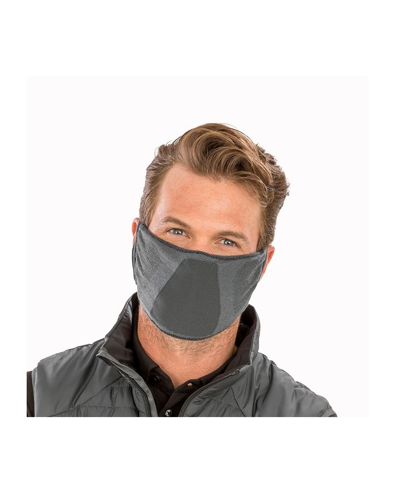 Antibacterial Face Mask - Grey
