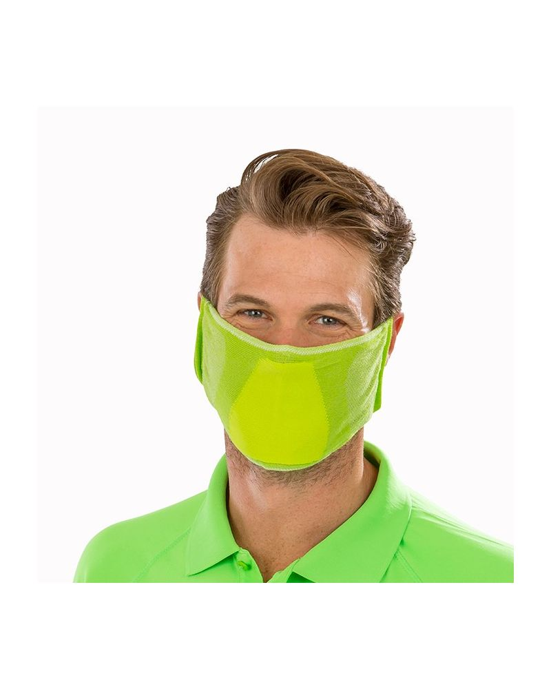 Antibacterial Face Mask - Lime