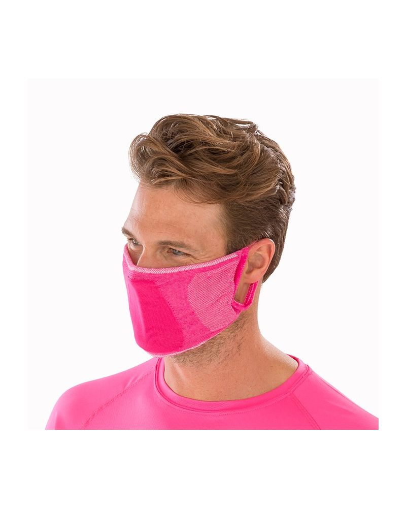 Antibacterial Face Mask - Pink