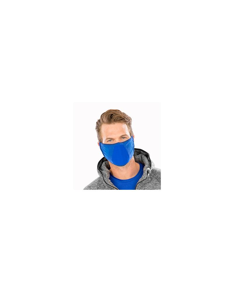 Antibacterial Face Mask - Royal Blue