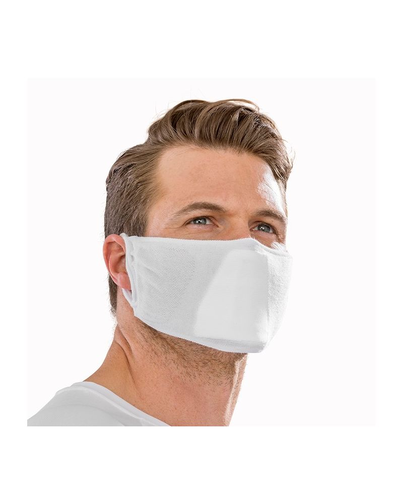 Antibacterial Face Mask - White