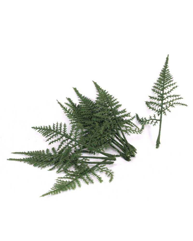 Green Fern Leaves 12 pcs Per Bag