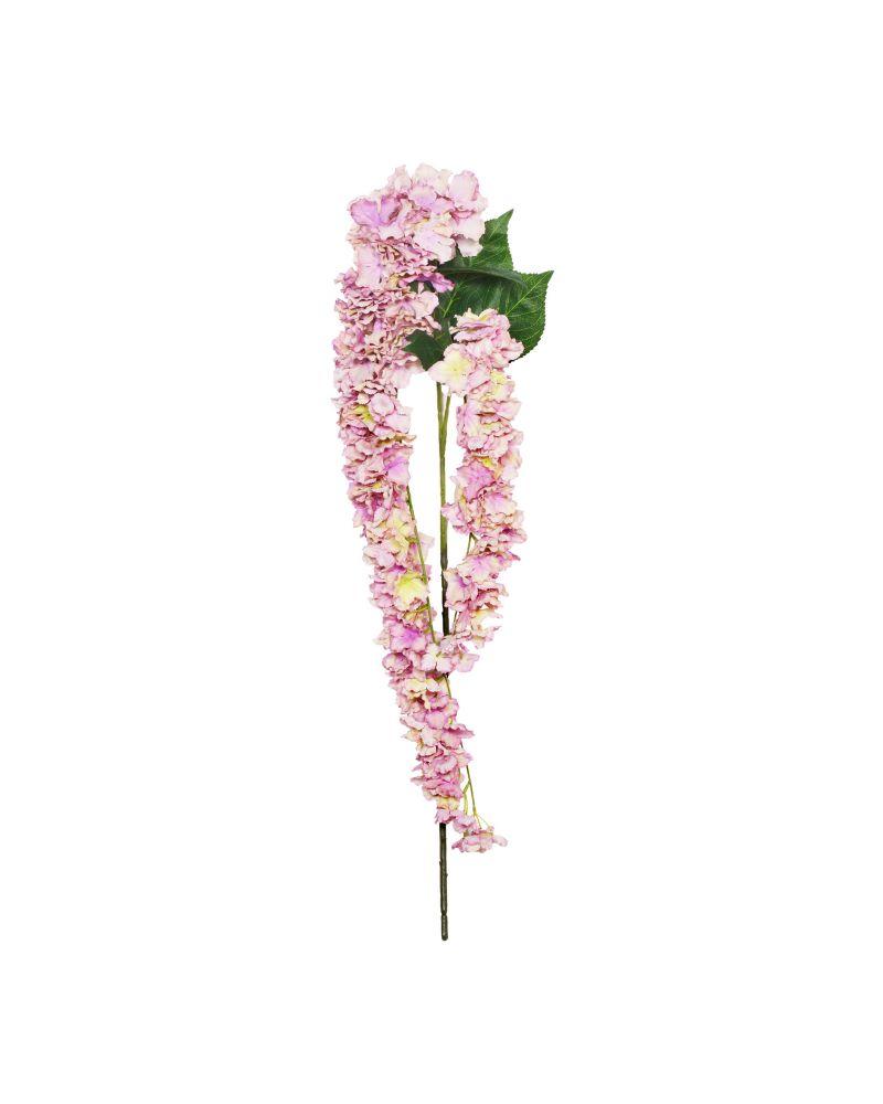 155cm Lilac Trailing Hydrangea 2 Stem