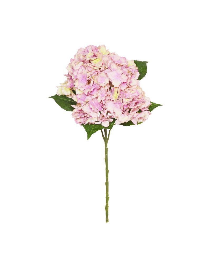 56cm Lilac Hydrangea 7 Stem
